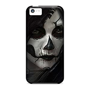 Cases cell phone carrying shells Pretty Iphone Cases Covers Highquality iphone 6 4.7 /6 4.7s - sugar skull girl