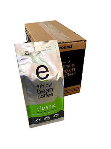 Ethical Bean Coffee - Classic Whole Bean 12 oz (Pack of 6)
