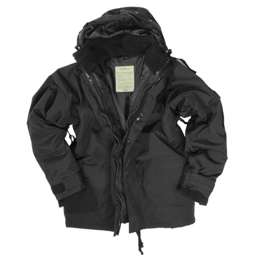 Mil-Tec ECWCS Jacket with Fleece Black size L