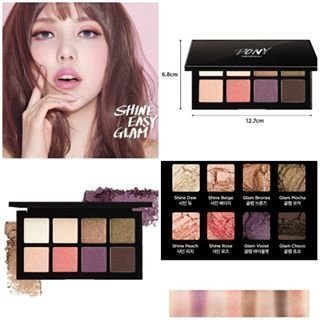 Pony X Memebox Shine Easy Glam Eyeshadow Eight Color#2