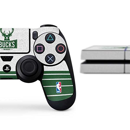 Milwaukee Bucks PS4 Console and Controller Bundle Skin - Milwaukee Bucks Static | NBA X Skinit Skin by Skinit