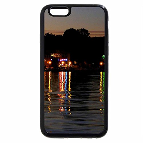 iPhone 6S / iPhone 6 Case (Black) Lake George Reflections