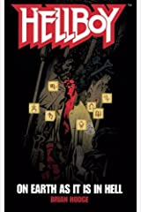 On Earth As It Is In Hell (Hellboy) Paperback