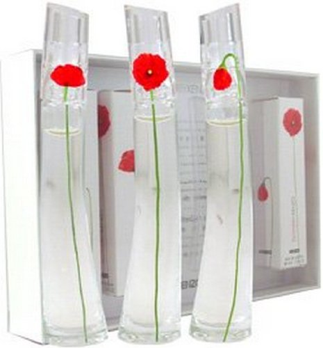 Kenzo Flower Coffret 3 Miniatures Set