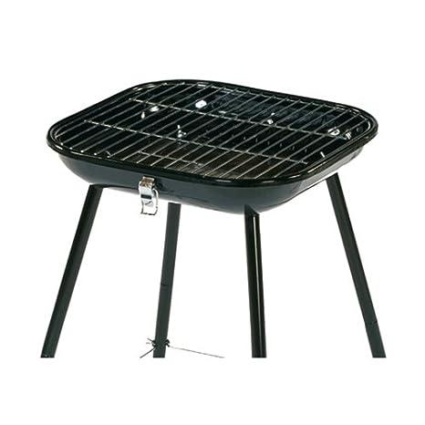 BBQ Barbacoa de carbón Bragado transportable en maletín - Acero - Color ROJO: Amazon.es: Hogar
