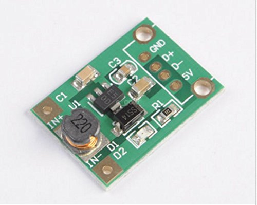 Avr Boost (DC-DC Boost Converter Step Up Module 1-5V to 5V 500mA for phone MP4 MP3 Arduino)