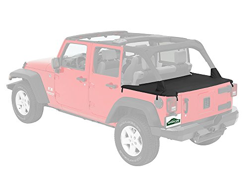 Pavement Ends by Bestop 41829-35 Black Diamond Cargo Cover for 2007-2018 Jeep Wrangler JK (Bestop Jeep Cab Cover)