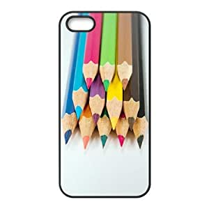 Colored Pencil Phone Case For iPhone 5,5S [Pattern-1]