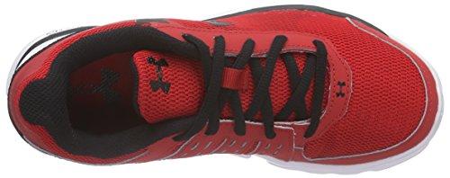 Under Armour Ua Bgs Micro G Speed Swift - Zapatillas de running Niños Rojo - Rot (RED/WHT/BLK 600)