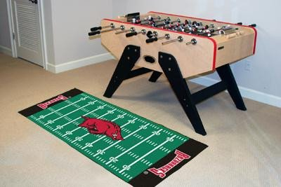 Football Runner Floor Mat - University of Arkansas ()