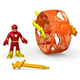 Fisher Price Imaginext Toy - DC Super Friends - Flash and Cycle Action Figure