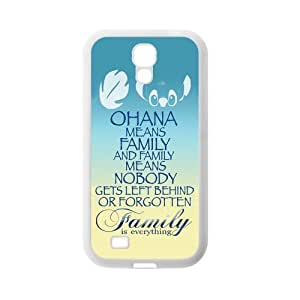 Family is Everything Quote OHANA Rubber Cell Phone Cover Case for SamSung Galaxy S4,SIV Cases