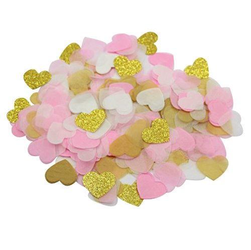 Parmay-Pink-Gold-Paper-Heart-Confetti-1-Inch-Wedding-Table-Decoration-Pack-of-8000