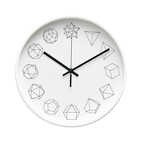 Geometric Clock - Arospa Modern Geometric Shapes Design 12