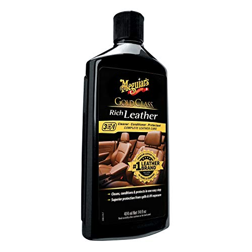 Meguiars Leather Conditioner - Meguiar's G7214 14 Ounces Gold Class Rich Leather Lotion