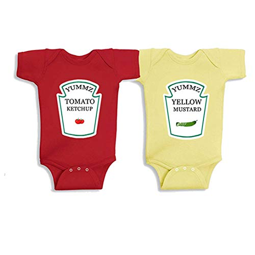 Baby Bodysuits Boy Girl Baby Clothes Red Yellow Tomato for sale  Delivered anywhere in Canada