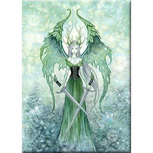 Amy Brown, VENGEANCE - Original Licensed Fairy Artwork Fridge MAGNET, 2.5