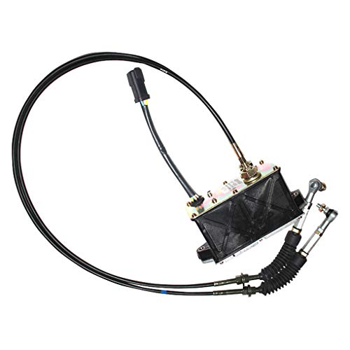 119-0633 1190633 Throttle Motor Governor Assy with Double Cable 6Pins for E312B 320B Stepper Governor Speed Gas Accelerator Parts