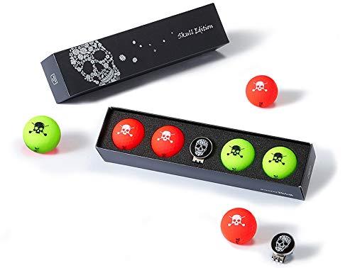 Halloween Golf Ball (Volvik Vivid Golf Ball: Skull Edition 2.0)