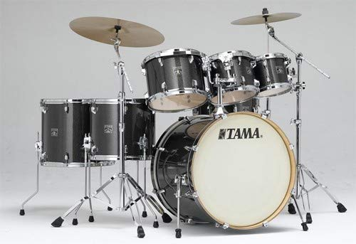 (Tama CK72S Superstar Classic 7-piece Shell Pack - Midnight Gold Sparkle)