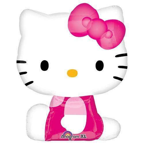 Hello Kitty Mylar Balloon Party Decoration Super Shape 27 Inch ()
