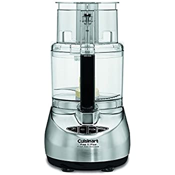 Cuisinart DLC-2011CHBY Prep 11 Plus 11-Cup Food Processor, Brushed Stainless