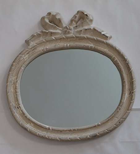 Blanc Mariclò Specchio Shabby Chic, 29,5x30,5 cm: Amazon.it: Casa e ...