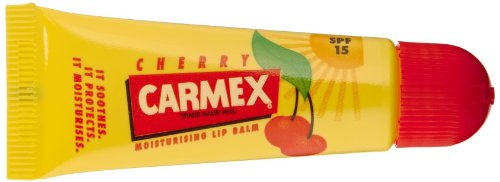 Cheap Carmex Cherry Lip Balm SPF 15 0.35 oz (Pack of 12)