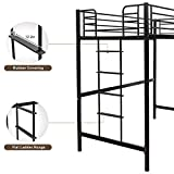 Bonnlo Metal Twin Loft Bed for Kids Space Saver Bed