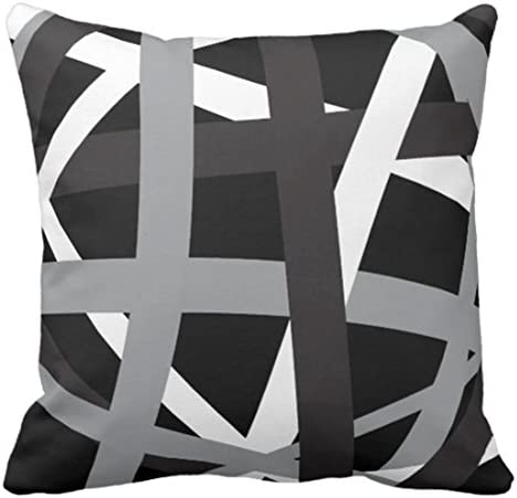 Emvency Stripes Decorative Striped Pillowcase product image