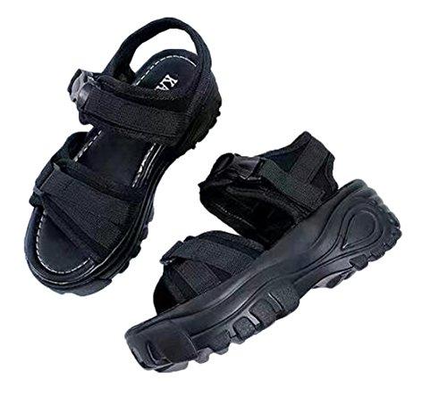 SHUNYI サンダル 厚底 レディース 歩きやすい 快適 スポーツサンダル コンフォートサンダル 可愛い カジュアル 美脚