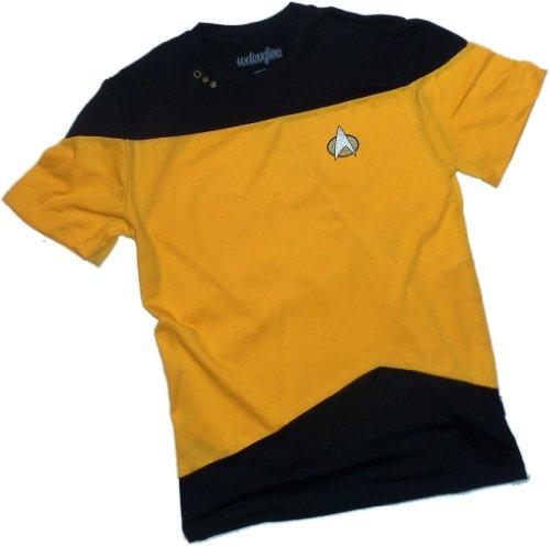 Engineering Gold Paneled Uniform -- Star Trek: The Next Generation T-Shirt, (Star Trek Tng Uniforms)