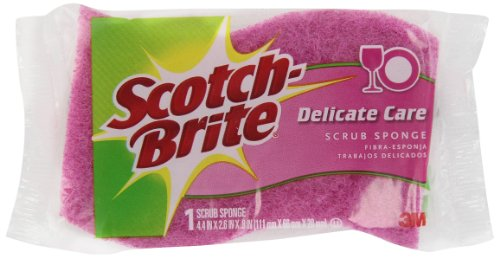 - Scotch-Brite Delicate Duty Scrub Sponge, 1ct