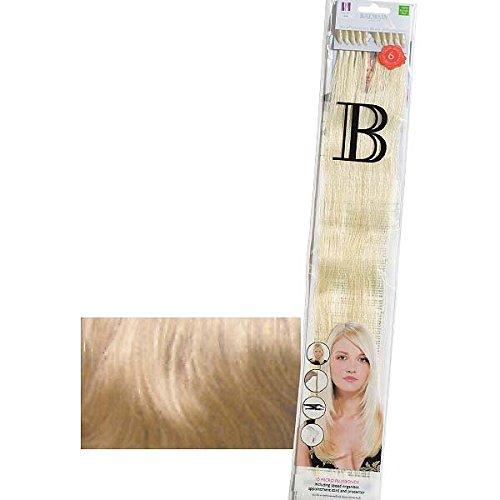 Balmain Plusbonds 614 Lot de 10 mèches d'extensions en cheveux naturels lisses 45cm