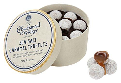 Charbonnel et Walker Double Layer Sea Salt Milk Caramel Truffles 245 g   Amazon.co.uk  Grocery 2cd20a7ce