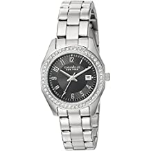 Caravelle New York Women's 43M113 Swarovski Crystal Stainless Steel Watch