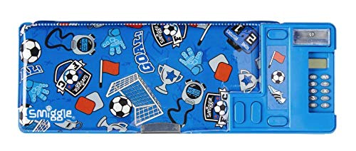 Smiggle Woah Pop Out Pencil Case Blue