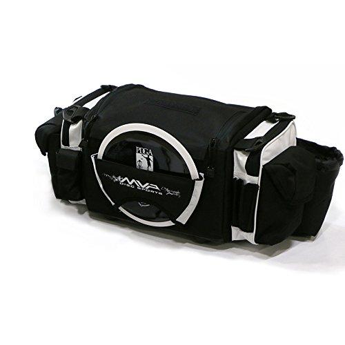 Oversize Golf Bag - MVP Disc Sports Nucleus Tournament Disc Golf Bag - White