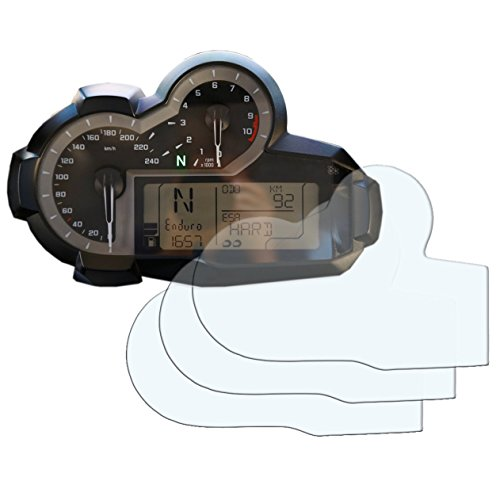 Speedo Angels Dashboard Screen Protector for R 1200 GS (2013+) - 3 x Anti Glare