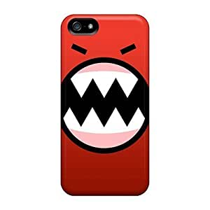 For Iphone 5/5s Premium Tpu Cases Covers Red Monster Protective Cases