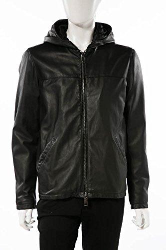 (ダニエレアレッサンドリーニ) DANIELEALESSANDRINI レザージャケット ブラック メンズ (I1330KD063806) 【並行輸入品】 B07FR46P3B 50 ブラック ブラック 50