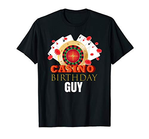 Casino Birthday Ideas (Mens Casino Birthday Guy Party Shirt Outfit Gift Idea For)