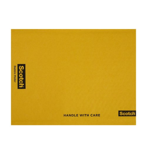 Scotch Bubble Mailer, 9.5 in x 13.5 in, Size #4, 10-Pack (7974)