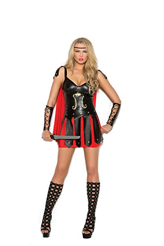 Soldier Womens Costume Roman (Women's Sexy Galdiator Warrior Cosplay Costume)