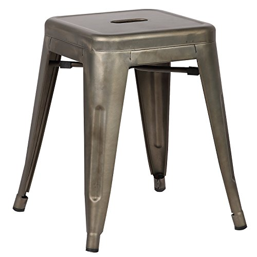 Poly and Bark Trattoria 18″ Stool in Bronze