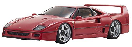 Kyosho Mini-Z MR-03S2 Red Ferrari F40 1:27 Scale Hobby-Gr...