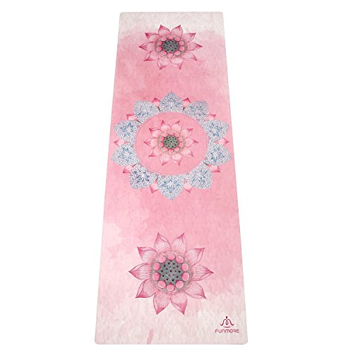 Cheap The Combo Yoga Mat.Microfiber Yoga Towel Shawl Non-Slip Yoga Mat Cover Blanket Fitness