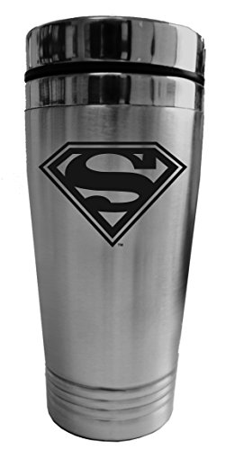 Chroma 57504 Stainless Superman Logo Travel Tumblerz