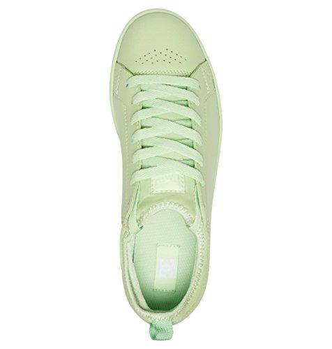 Femme Magnolia Basses Green Vert Dc Shoes Sneakers Pistachio qwRTWfx