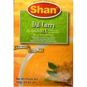 Shan Daal Masala Lentil Curry Mix, 100 Grams (Pack of 6)